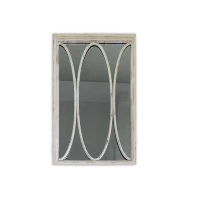 Tx Usa Corporation Opal 36in Distressed Wall Mirror - Home Depot