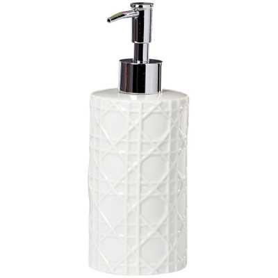 Home Decorators Collection Pisa Lotion Dispenser in White - Home Depot