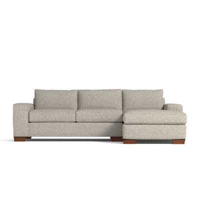 Melrose 2pc Sleeper Sectional - Straw / LAF- Chaise on the Left - Apt2B
