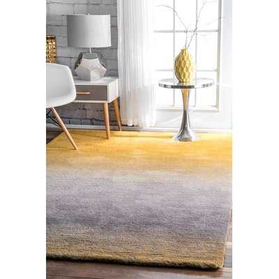 Toth Hand-Tufted Yellow Area Rug - AllModern
