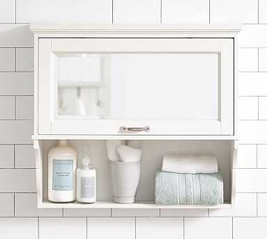 Matilda Wall Cabinet, White - Pottery Barn