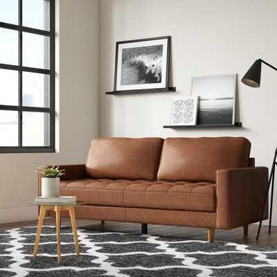 Tia Leather Sofa - AllModern