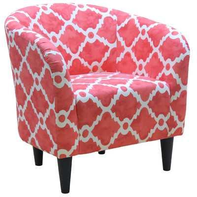 Abadou Premier Madrid Barrel Chair - Wayfair