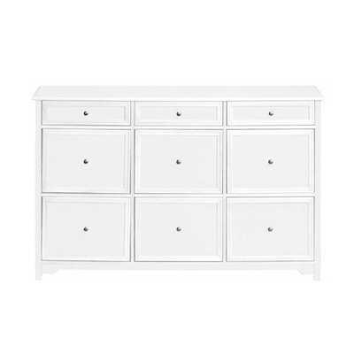 Oxford White Chest - Home Depot