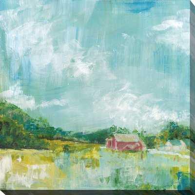 'Horizon Farm' Acrylic Painting Print - Wayfair