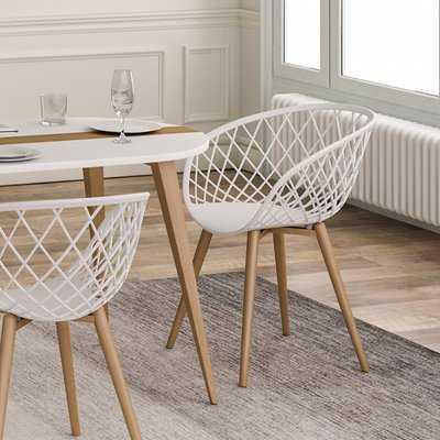 Brower Dining Chair, set of 2 - Wayfair