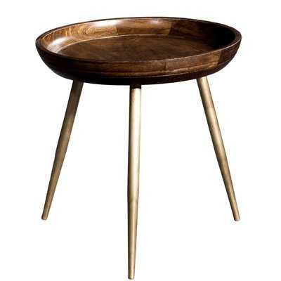 Tondreau Wooden Tray Table - Wayfair
