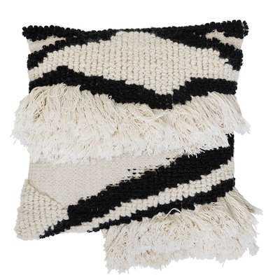 Jamir Wool Throw Pillow - AllModern