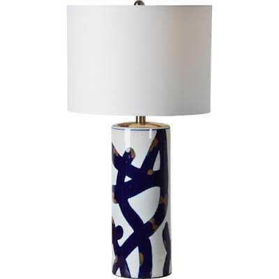 """Ren Wil LPT714 Cobalt Single Light 26"""" Tall Vase Table Lamp - eBay"""