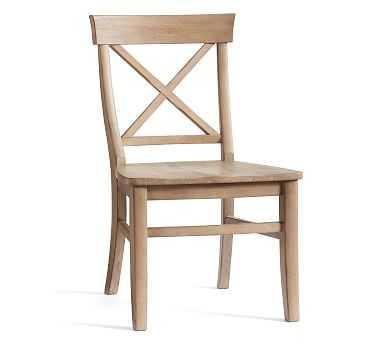 Aaron Side Chair, Salvaged Pine - Pottery Barn