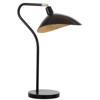 Safavieh Giselle 30 in. Black Table Lamp - Home Depot