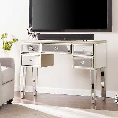 Minna Glam Mirrored Console/Desk - Champagne - eBay