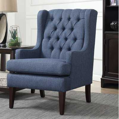 Argenta Button Tufted Wingback Chair - Wayfair