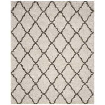 Statesboro Ivory/Gray Area Rug - Wayfair