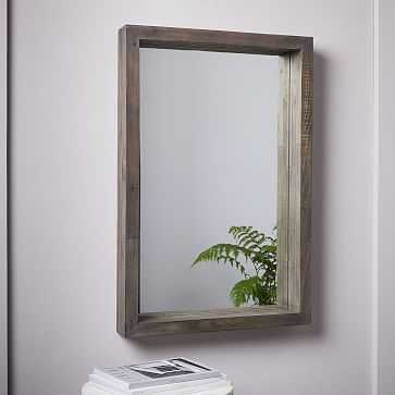 Emmerson(R) Modern Reclaimed Wood Wall Mirror - West Elm