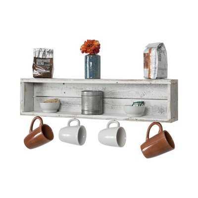 Vicente Coffee Cup Accent Shelf - Birch Lane