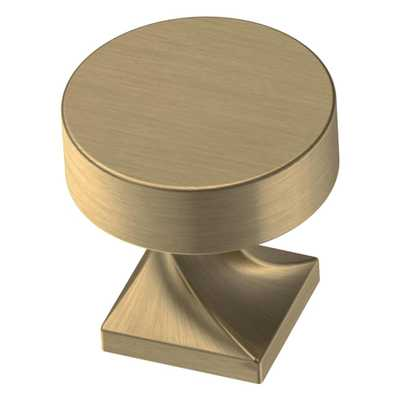 Everly 1-1/8 in. (28.5 mm) Champagne Bronze Cabinet Knob - Home Depot