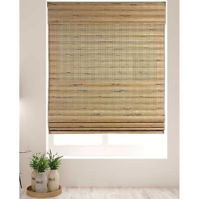 Arlo Blinds Tuscan Cordless Lift Bamboo Shade with 60 Inch Height: 23.5w x60 h inches - eBay