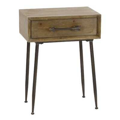 Beaulieu Accent with Drawer End Table - Wayfair
