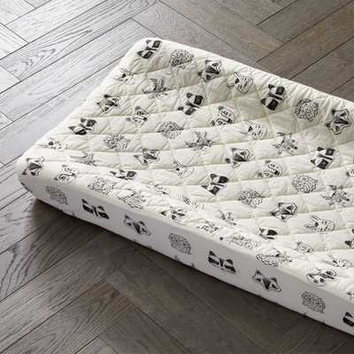 Roxy Marj Woodland Animal Changing Pad Cover - Crate and Barrel
