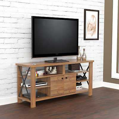 Inval Urban Open Back Transitional TV Stand - eBay