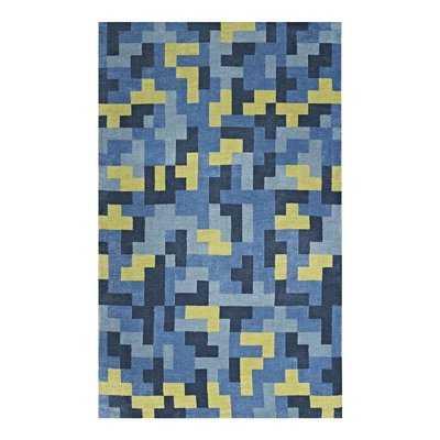 Hartshorn Blue/Light Olive Green Area Rug - Wayfair
