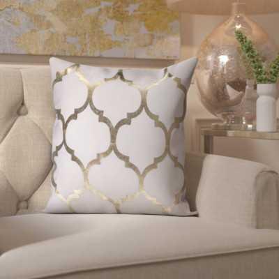 Cosentino Indoor/Outdoor Trellis Throw Pillow - Wayfair