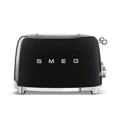 Smeg 4 X 4 Slice Toaster, Black - Williams Sonoma