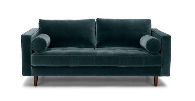 "Sven Pacific Blue 72"" Sofa - Article"