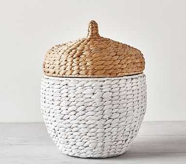 Shaped Critter Storage, Acorn Storage - Pottery Barn Kids