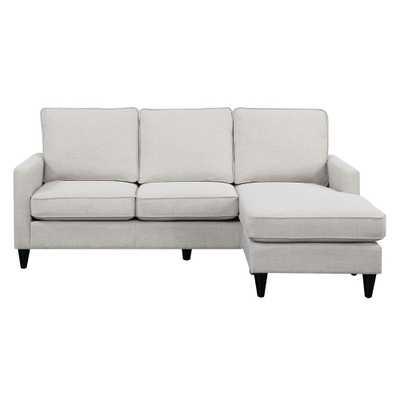 Element International Nori Reversible Chaise Sectional - Home Depot