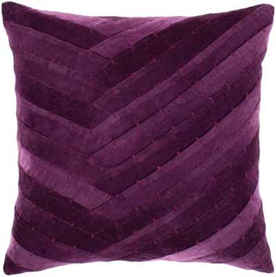 "Aviana - 18"" x 18"" Pillow Shell with Polyester Insert - Neva Home"