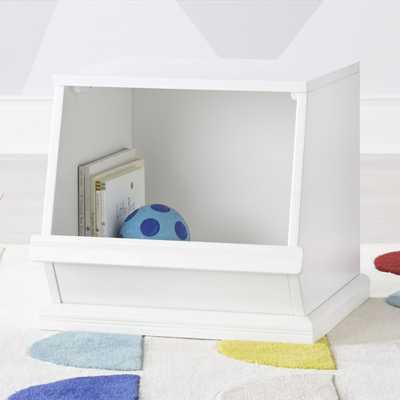Storagepalooza 1 White Toy Bin - Crate and Barrel