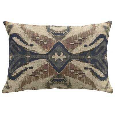 Hodson Global Ikat Linen Throw Pillow - Wayfair