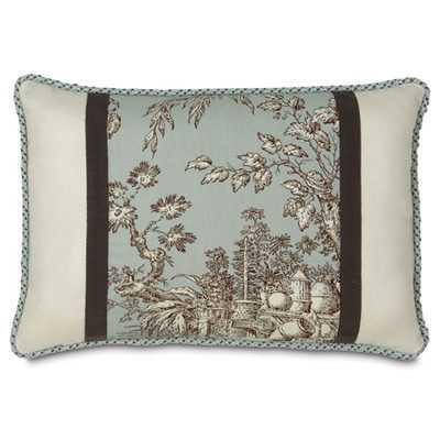 Vera Toile Lumbar Pillow - Wayfair