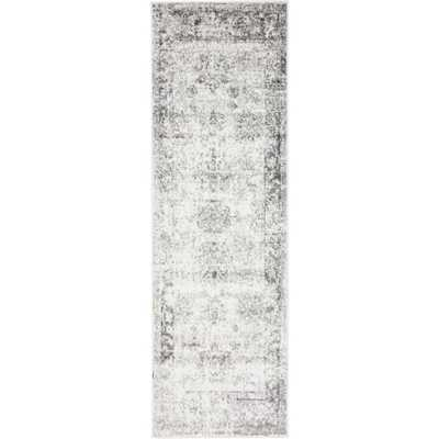 "Sofia Gray 2' x 6'7"" Runner Rug - Home Depot"