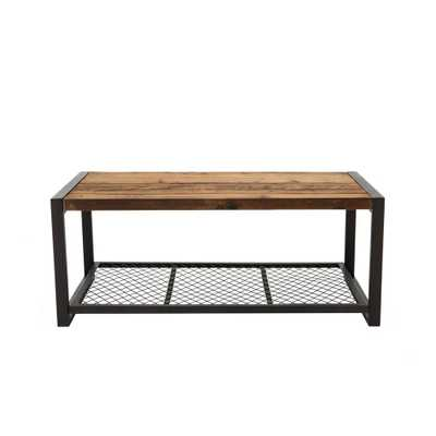 Soho Natural Wood Coffee Table - Home Depot