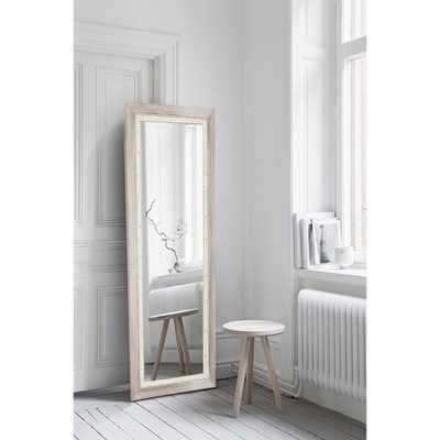 Brandtworks Weathered Beach Full Length Wall Mirror - Home Depot