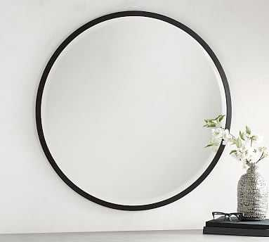 "Layne Mirror, Bronze - 36"" Round - Pottery Barn"