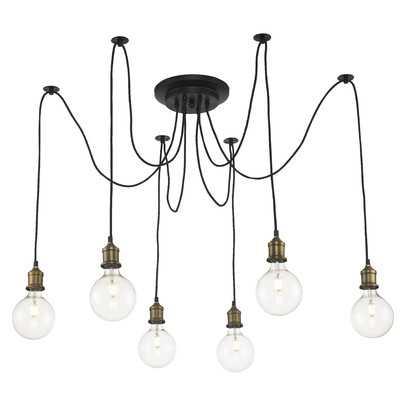Colton 6 - Light Cluster Bulb Pendant - AllModern