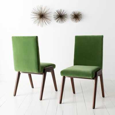 Bricker Upholstered Dining Chair (Set of 2) - Wayfair