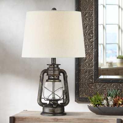 Murphy Miner Lantern Metal Table Lamp - Style # 53X62 - Lamps Plus