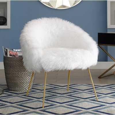 Callisburg Tiffany Barrel Chair - Wayfair