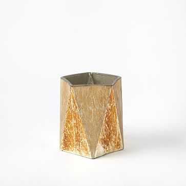Prism Mercury Hurricane, Small, Gold - West Elm