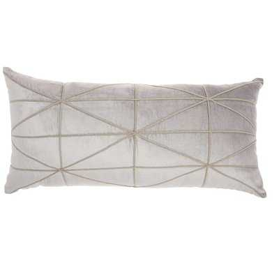 Velvet Lumbar Pillow - Wayfair