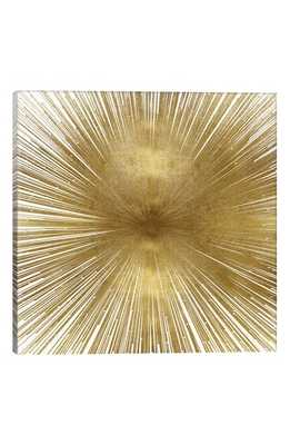 Icanvas Radiant Gold By Abby Young Giclee Print Canvas Art, Size 18x18 - Green - Nordstrom