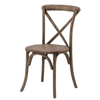 Sudie Solid Wood Dining Chair - Wayfair