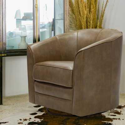 Mauldin Swivel Barrel Chair - Wayfair