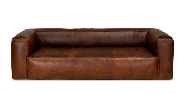 Cigar Rawhide Brown Sofa - Article