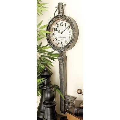 Metal Wall Clock - Wayfair